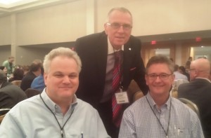 Charleston anesthesiologists - Drs Eric Persily and Alex Skaff at the 2015 Practice Management Conference